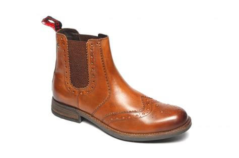mens catesby cx07 chelsea brogue dealer boots sizes