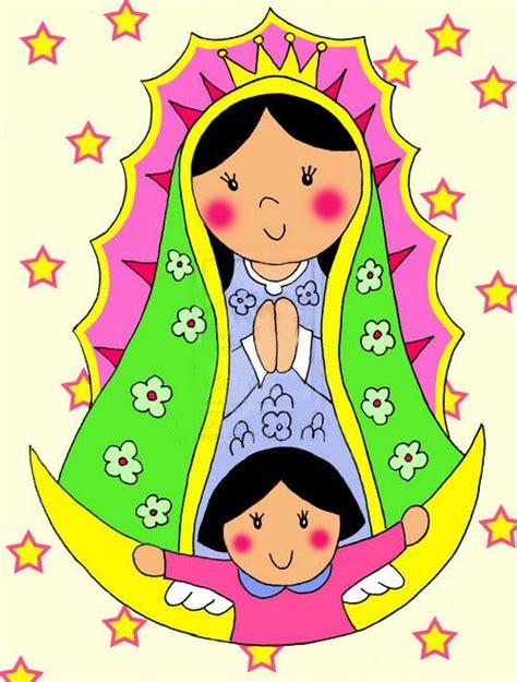 Imagenes Virgen Maria Caricatura   ver fotos de la virgen de guadalupe en caricatura 4