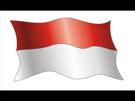 membuat gambar bendera bergerak tutorial membuat bendera dengan coreldraw kelapapariwara
