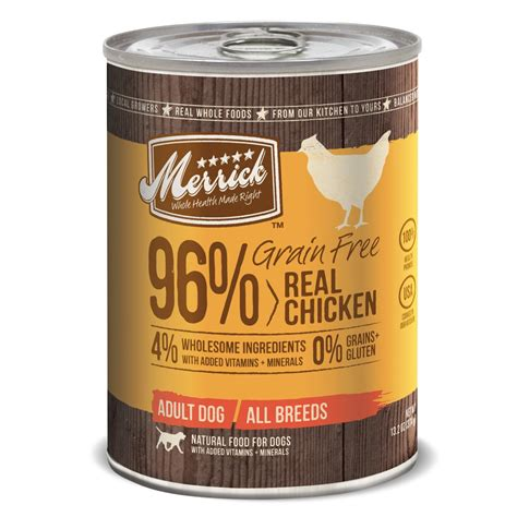 petco grain free food merrick grain free 96 real chicken food petco