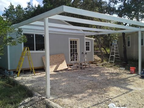 attached carport cotulla texas attached custom all steel carport carport