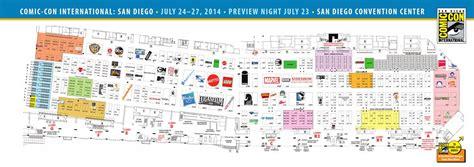 san diego convention center floor plan comic con 2014 exhibit hall floor plan by comic con