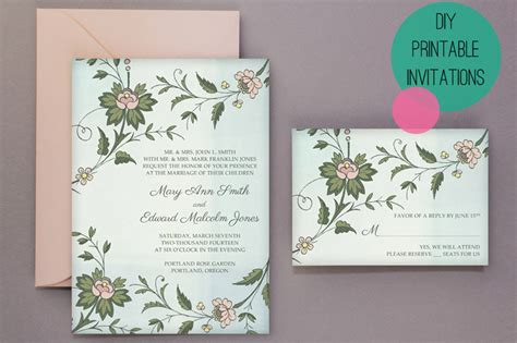 free printable wedding invites diy wedding diy free printable invitations rsvp bespoke