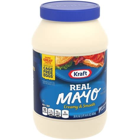 Mayonaise Real Mayo Kraft kraft real mayonnaise 30oz target