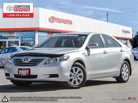 2007 Toyota Camry Hybrid Warranty 2007 Toyota Camry Hybrid Base Competition Certified One