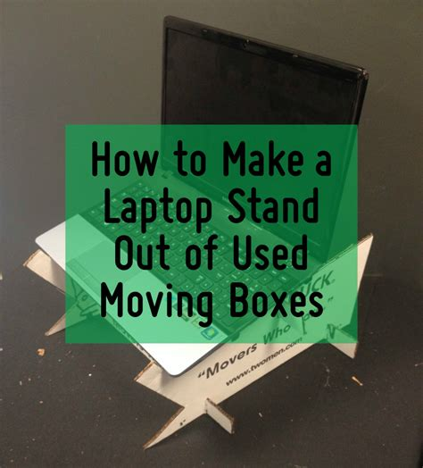 how to make a lap desk how to make a laptop desk out of used moving boxes