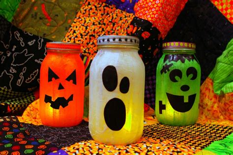 Halloween Decorations Craft Halloween At The Eleventh Hour Positively Splendid