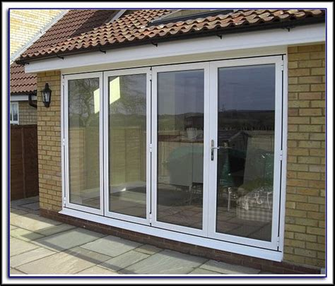 Bi Fold Patio Doors With Integral Blinds Pantry Home Bi Fold Patio Door