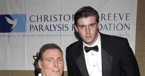 christopher reeve education christopher reeve s son a cure for paralysis will be
