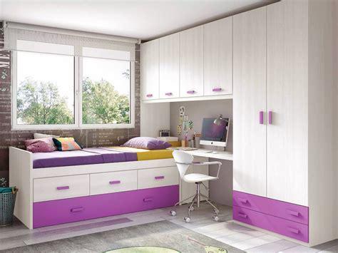 Impressionnant Chambre Complete Ado Fille #2: chambre-de-fille-ado-composition-l019-avec-lit-gigogne-glicerio.jpg