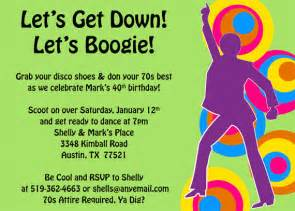 get and boogie 70s invitation by freshly cut cards catch my