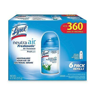 lysol neutra air freshener freshmatic refills fresh scent  pack  ebay