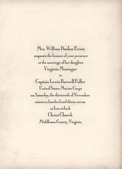 Wedding Invitations Virginia by File Wedding Invitation Virginia Montague To Lewis B