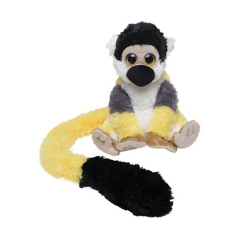 squirrel monkey soft toy 71cm zsl shop