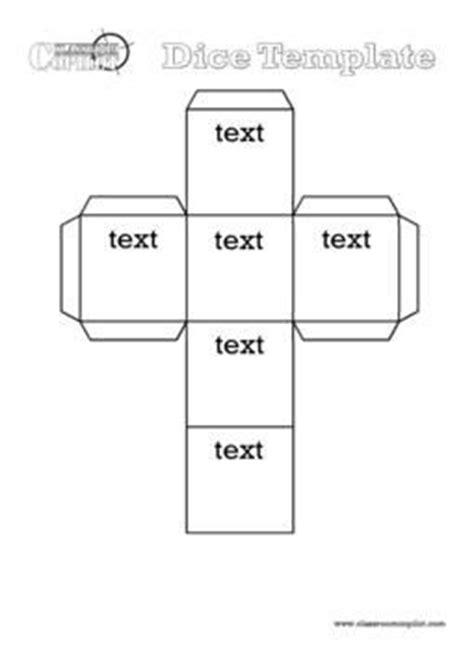 printable dice template blank alphabet words and microsoft on pinterest