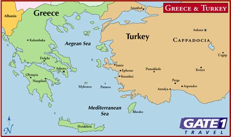 Printable Map Of Turkey And Greece | map of greece and turkey