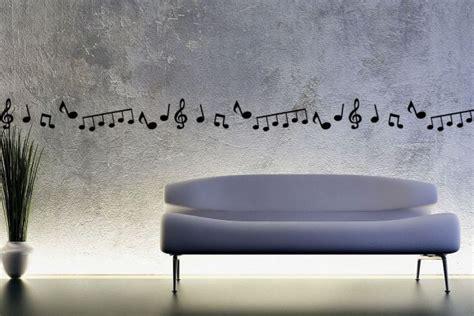 cenefas musicales cenefa de notas musicales y clave de sol vinilos decorativos