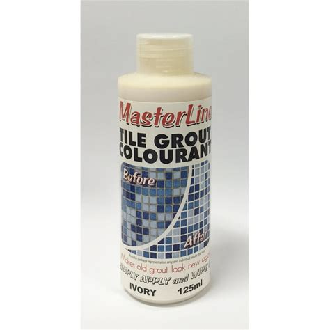 masterline 125ml ivory tile grout colourant bunnings