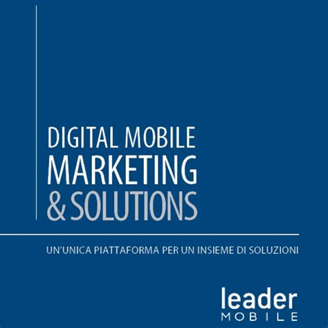 leader mobile franchising pubblicit 224 e marketing