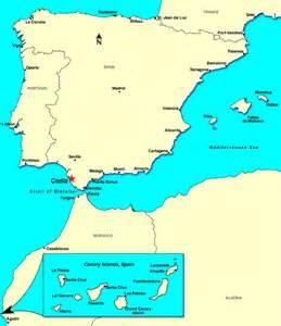 Cadiz Spain Map by Cadiz Spain Discount Cruises Last Minute Cruises