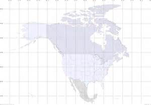 america map with latitude and longitude lines
