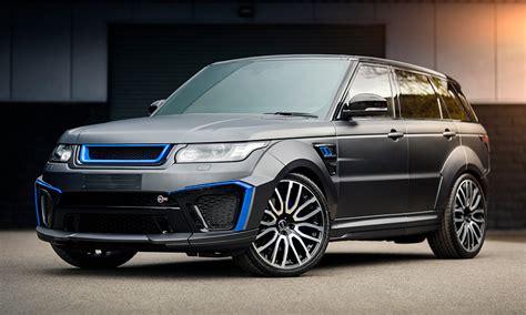 project kahn s range rover sport svr is selling for 160k
