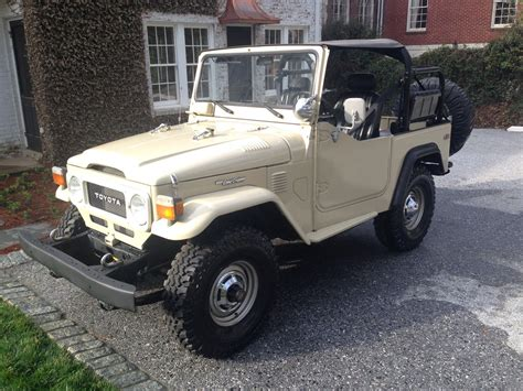1981 Toyota Land Cruiser 1981 Toyota Land Cruiser Fj40 Clean E Land Cruiser Of