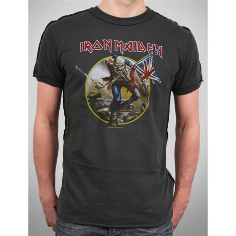 Iron On T Shirt Vintage mens vintage iron maiden t shirt by lified