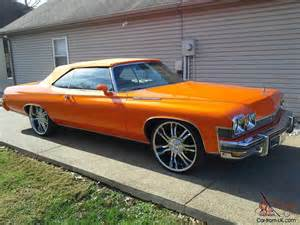 Buick Lesabre Wheels 1974 Buick Lesabre New Paint 24 Quot Rims Wheels Completely
