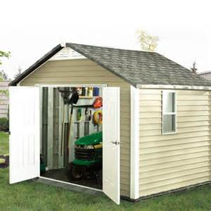 build a ready to assemble storage shed 1 rona