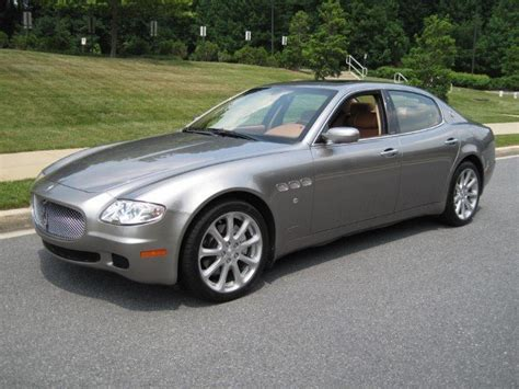 2007 maserati quattroporte 2007 maserati quattroporte for sale to purchase or buy classic