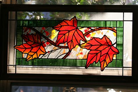 leaf pattern for stained glass stained glass on pinterest oak leaves stained glass