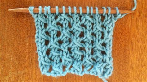 sl1 knitting the cell lace stitch knitting stitch 27 new stitch