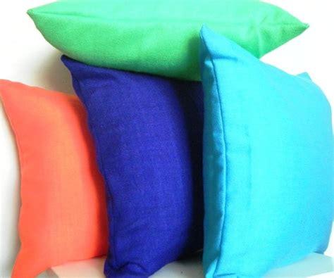bright neon pillows set of 4 modern decorative