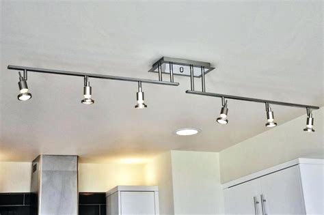 led kitchen track lighting led track lighting for kitchen lighting ideas