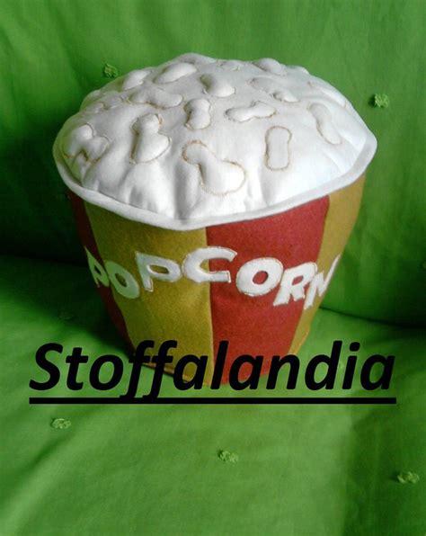 cuscini regalo cuscino secchiello popcorn idea regalo per la casa e per