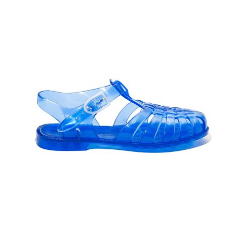 mens jelly boots jelly shoes cobalt blue vintage style plastic shoppers