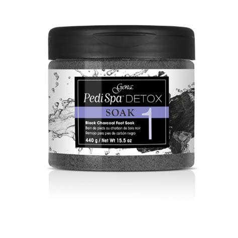 Gena Pedi Spa Detox Charcoal by Gena Pedi Spa Detox Black Charcoal Soak 15 5 Oz 1237