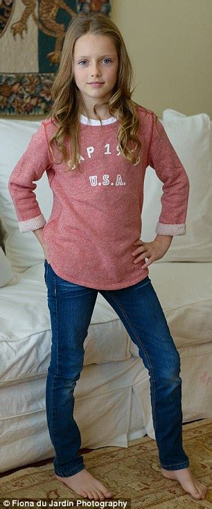 depfile preteen elizabeth hiley looks exactly like supermodel kristina