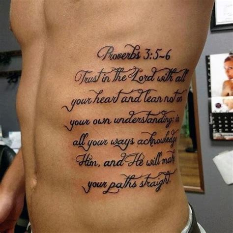 Tattoo Fonts Bible Verse | best tattoo fonts for men bible verses tattooic