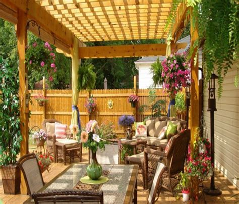 Amazing Techniques To Decorate Your Pergola Recycled Things Backyard Decorating Ideas For