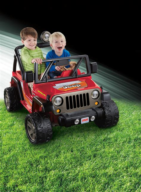 Power Wheels Jeep Wrangler Rubicon Fisher Price Power Wheels Jeep Wrangler Lava