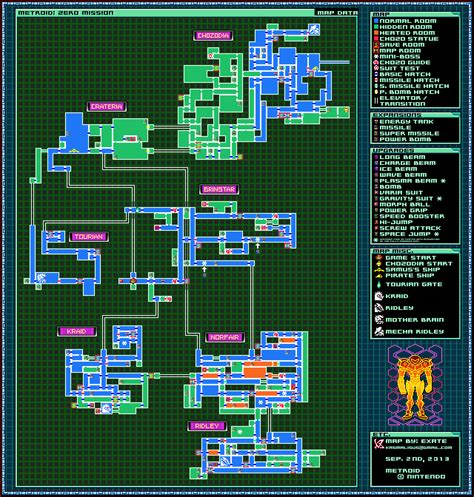metroid map metroid zero mission map by exate on deviantart