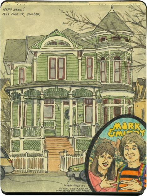 mork and mindy house quot mork mindy quot house boulder co beautiful notebook pages pinte
