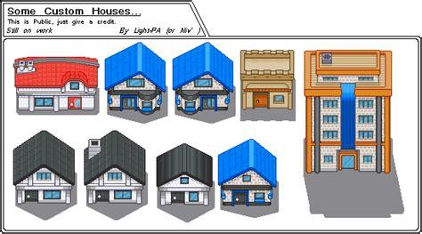 Pokemon   Custom Houses by Light PA on DeviantArt