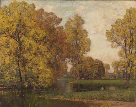 autumn art london     autumnal paintings