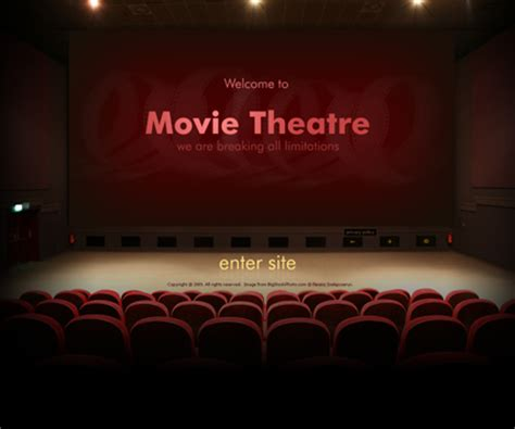 movie theatre video gallery template best website templates