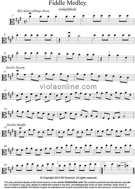 Viola Online Free Viola Sheet Music - American Fiddle