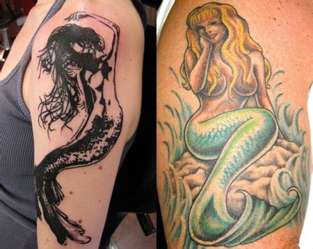 tattoo meaning mermaid mermaid tattoos tattoo ideas designs and meaning