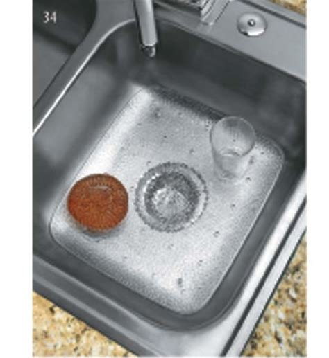 kitchen sink protector in sink mats